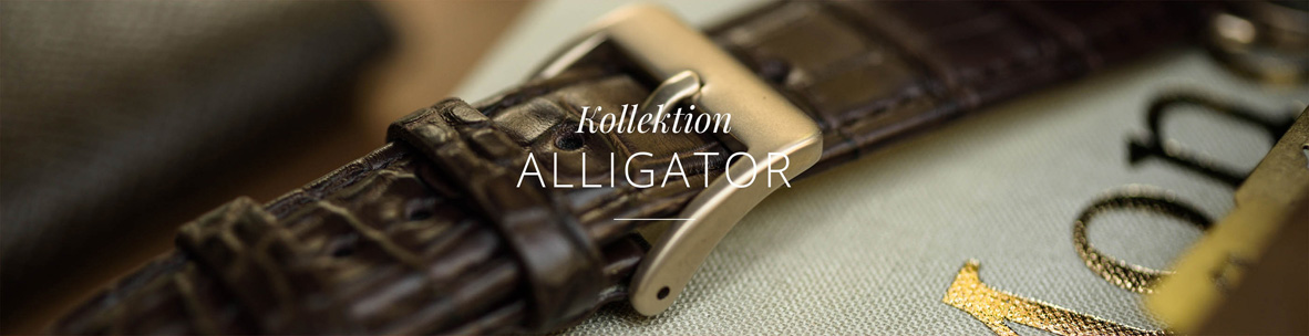 Alligator leather