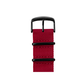 Apple Watch band NATO nylon cherry | Roobaya