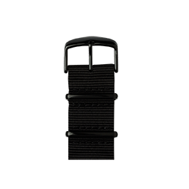 Apple Watch band NATO nylon black | Roobaya