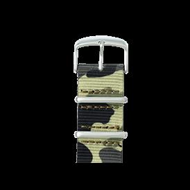 Premium Apple Watch Armband Nato Nylon Camouflage - kaufen | Roobaya