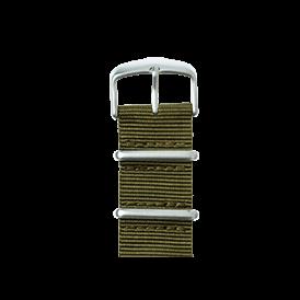 Premium Apple Watch Armband Nato Nylon Olivgrün - kaufen | Roobaya