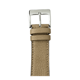 Premium Apple Watch Lederarmband Sauvage Hellgrau - kaufen | Roobaya