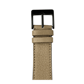 Apple Watch band sauvage leather light gray | Roobaya