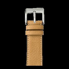 Premium Apple Watch Lederarmband Sauvage Sand - kaufen | Roobaya