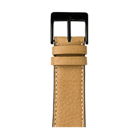 Apple Watch band sauvage leather sand | Roobaya