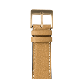 Premium Apple Watch Lederarmband Sauvage Sand - kaufen   Roobaya