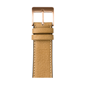 Premium Apple Watch Lederarmband Sauvage Sand - kaufen | Roobaya