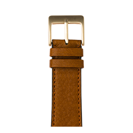 Premium Apple Watch Lederarmband Sauvage Cognac - kaufen | Roobaya