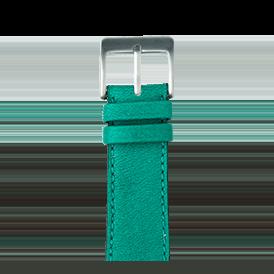 Premium Apple Watch Lederarmband Sauvage Türkis - kaufen | Roobaya