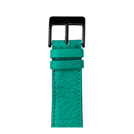 Apple Watch band sauvage leather turquoise | Roobaya