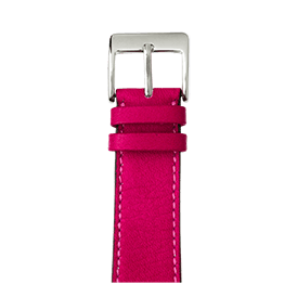 Correa para Apple Watch de piel sauvage en rosa | Roobaya