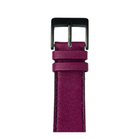 Apple Watch Lederarmband Sauvage Violett | Roobaya