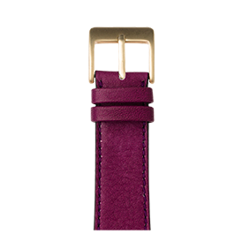 Cinturino Apple Watch in pelle sauvage violetto | Roobaya