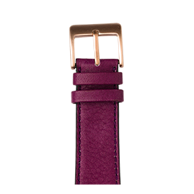 Apple Watch band sauvage leather purple | Roobaya