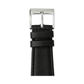 Correa para Apple Watch de piel napa en negro | Roobaya
