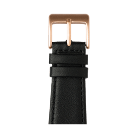 Apple Watch band nappa leather black | Roobaya