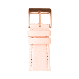 Apple Watch band nappa leather light pink | Roobaya