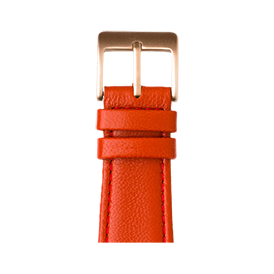 Apple Watch band nappa leather red | Roobaya