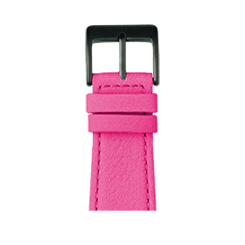 Apple Watch Lederarmband Nappa Pink | Roobaya