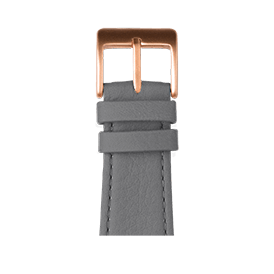Apple Watch band nappa leather dark gray | Roobaya