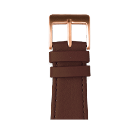 Apple Watch band nappa leather medium brown | Roobaya