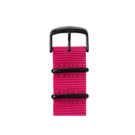 Apple Watch band NATO nylon pink | Roobaya