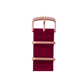 Apple Watch band NATO nylon bordeaux | Roobaya