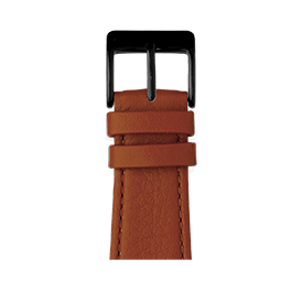 Apple Watch Lederarmband Nappa Cognac | Roobaya