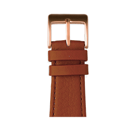 Apple Watch band nappa leather cognac | Roobaya