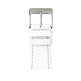 Correa para Apple Watch de piel napa en blanco | Roobaya