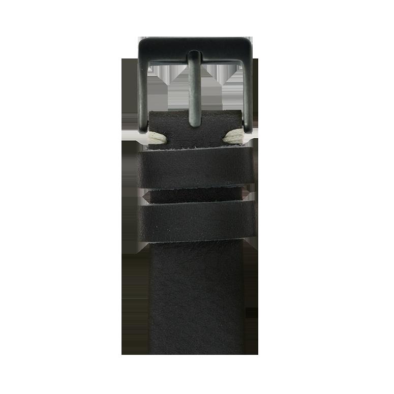 Cinturino Apple Watch in pelle vintage nero | Roobaya