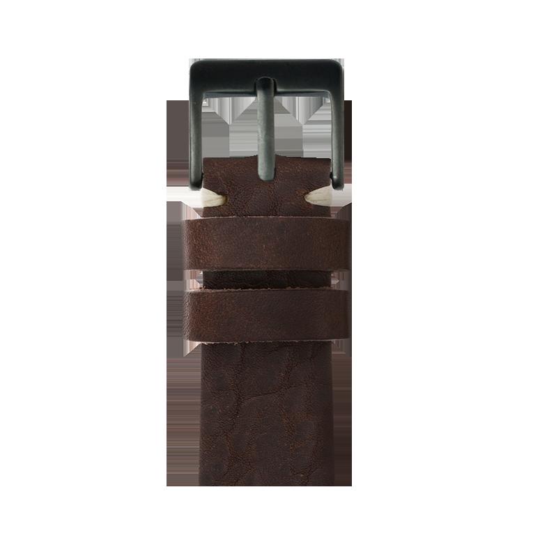 Cinturino Apple Watch in pelle vintage arancia | Roobaya