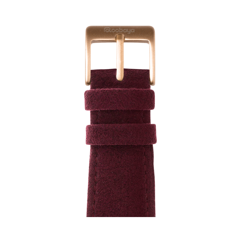 Alcantara Wine Red | Roobaya