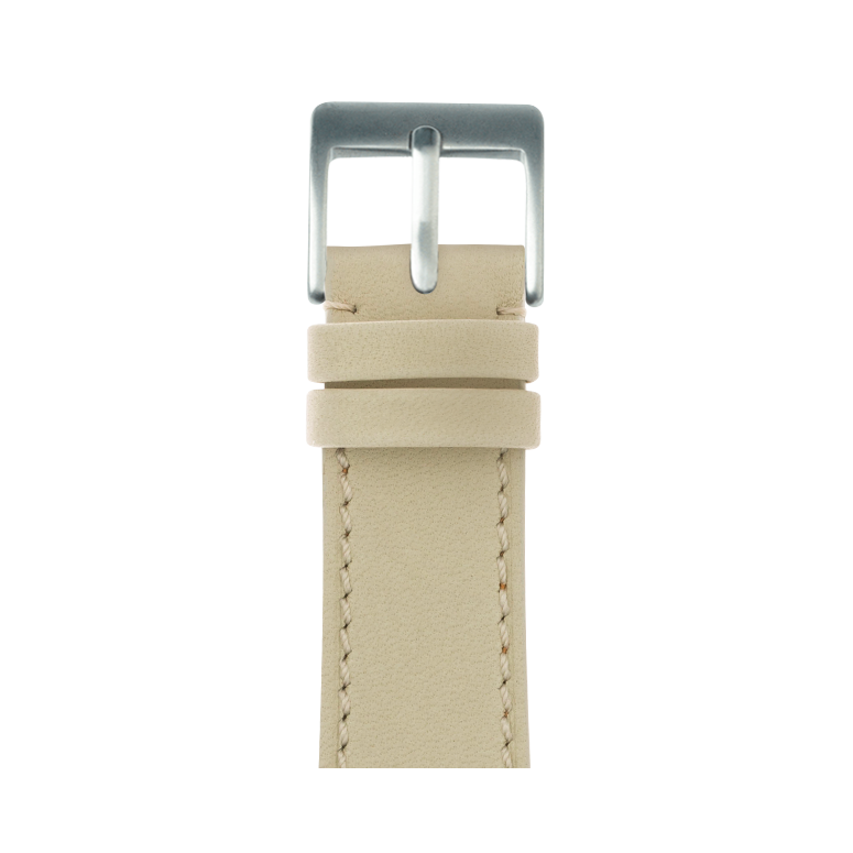 Bracelet Apple Watch cuir french calf sable | Roobaya