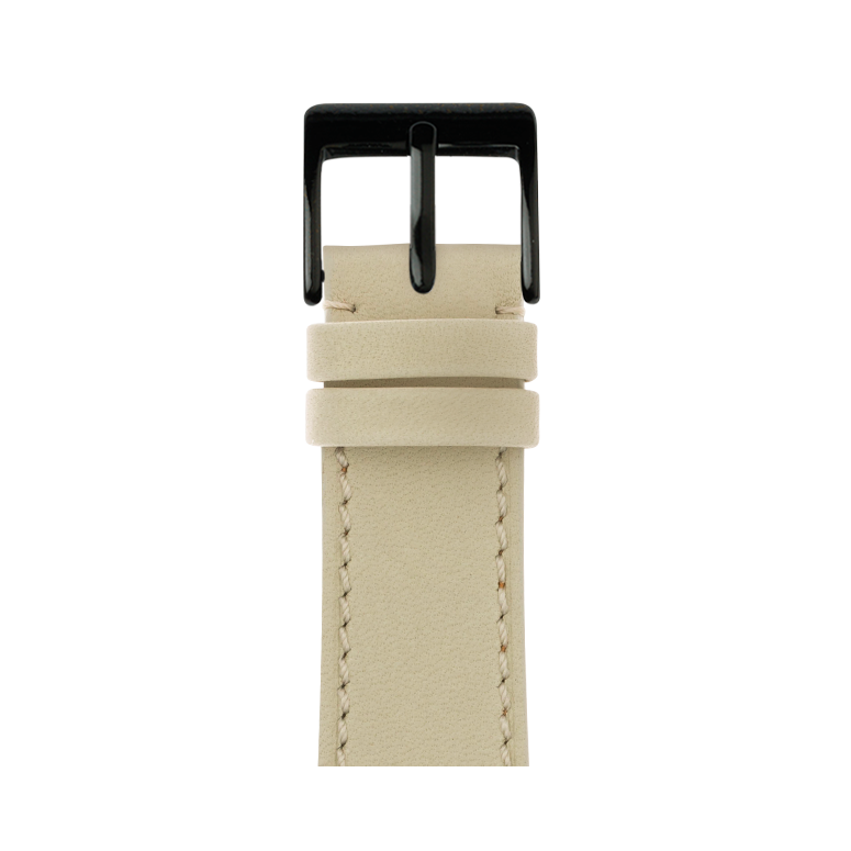 Apple Watch band french calf leather sand | Roobaya