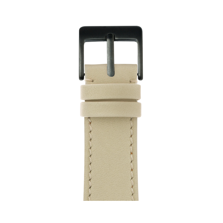 Correa para Apple Watch de piel french calf en arena | Roobaya
