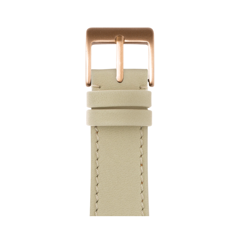 Cinturino Apple Watch in pelle french calf sabbia | Roobaya