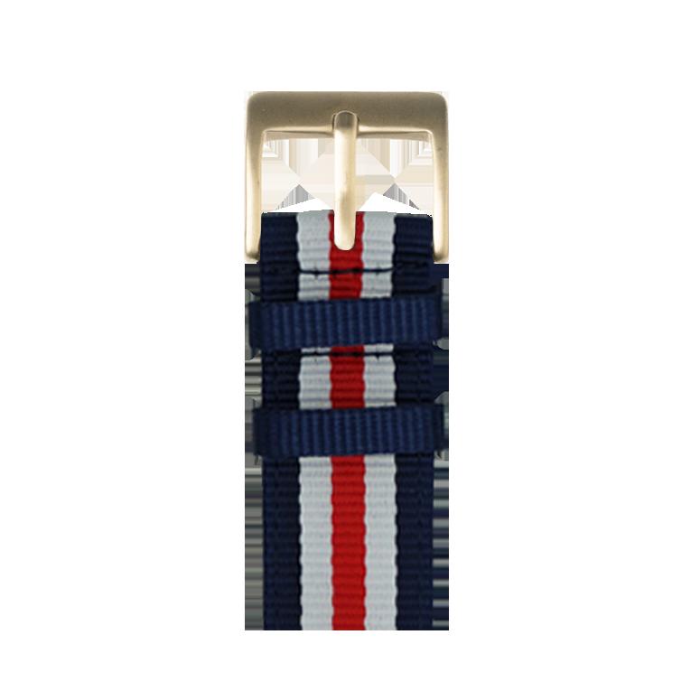 Bracelet Apple Watch nylon noir | Roobaya