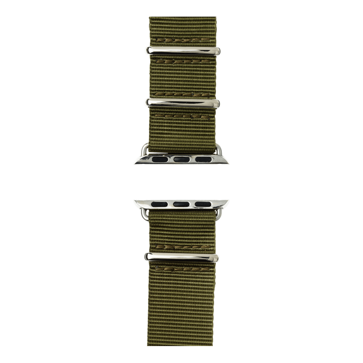 olive greenNATO Apple Watch watchband