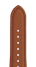 Nappa leather watch band in cognac for the Apple Watch Series 1, 2, 3 & 4 in size 38mm, 40mm, 42mm & 44mm by Roobaya - Made in Germany